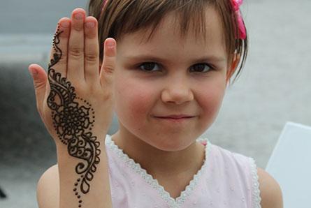 henna dla dzieci