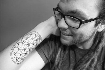 tymczasowy tatuaz jagua