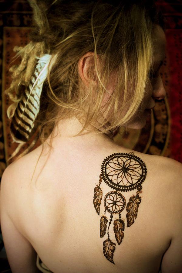 Łapacz snów henna