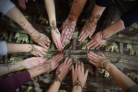 kursy malowania henną