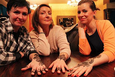 prezent malowanie henną