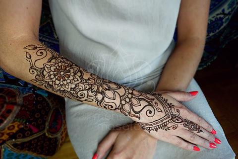 inspiracja henna wzory mehendi na ręku