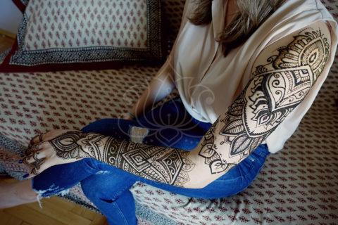 mehendi wzory inspiracje henna tatuaże z henny wzory indyjskie