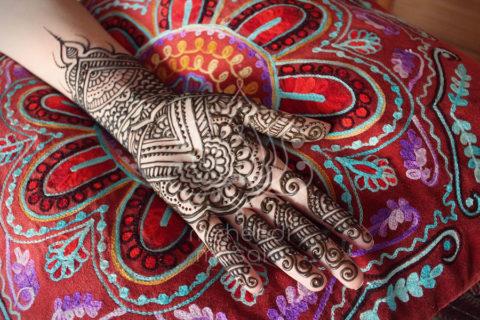 inpiracje henna wzory mehendi wenetrzna strona dloni