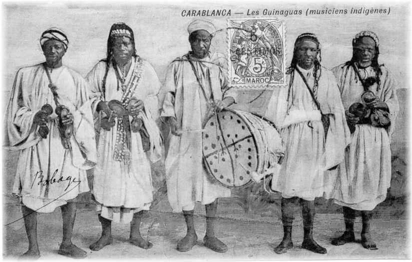 Muzycy Gnawa, lata 20. XXw