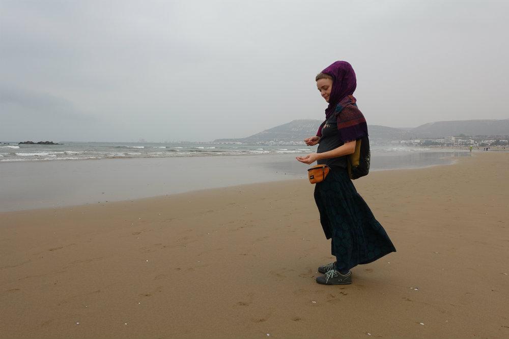 plaża w agadir