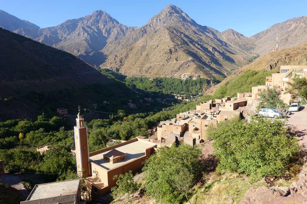 imlil miejscowość w górach wysokiego atlasu
