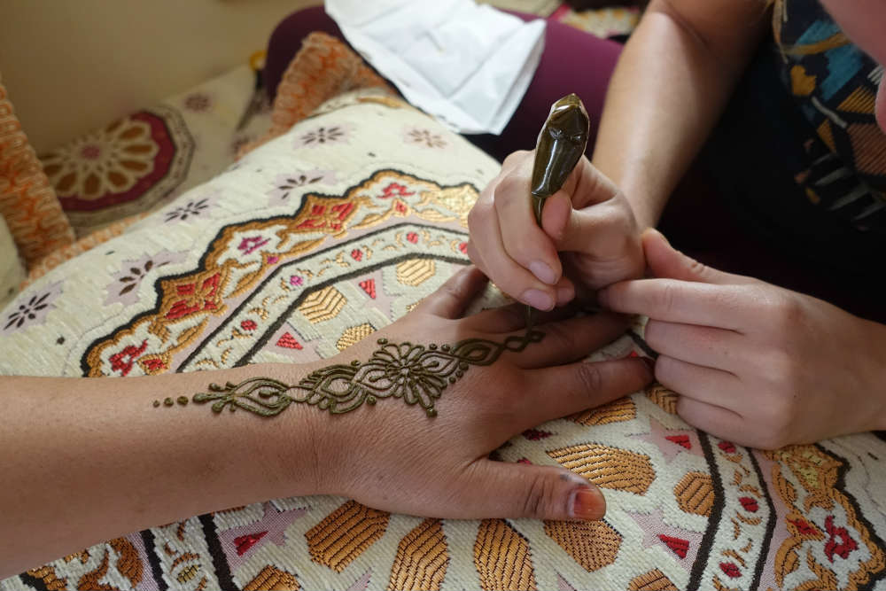 mehendi masala maluje w maroko