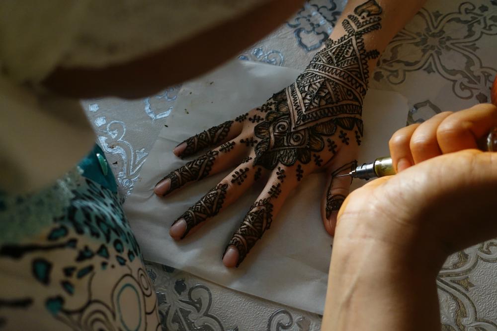 henna w maroku