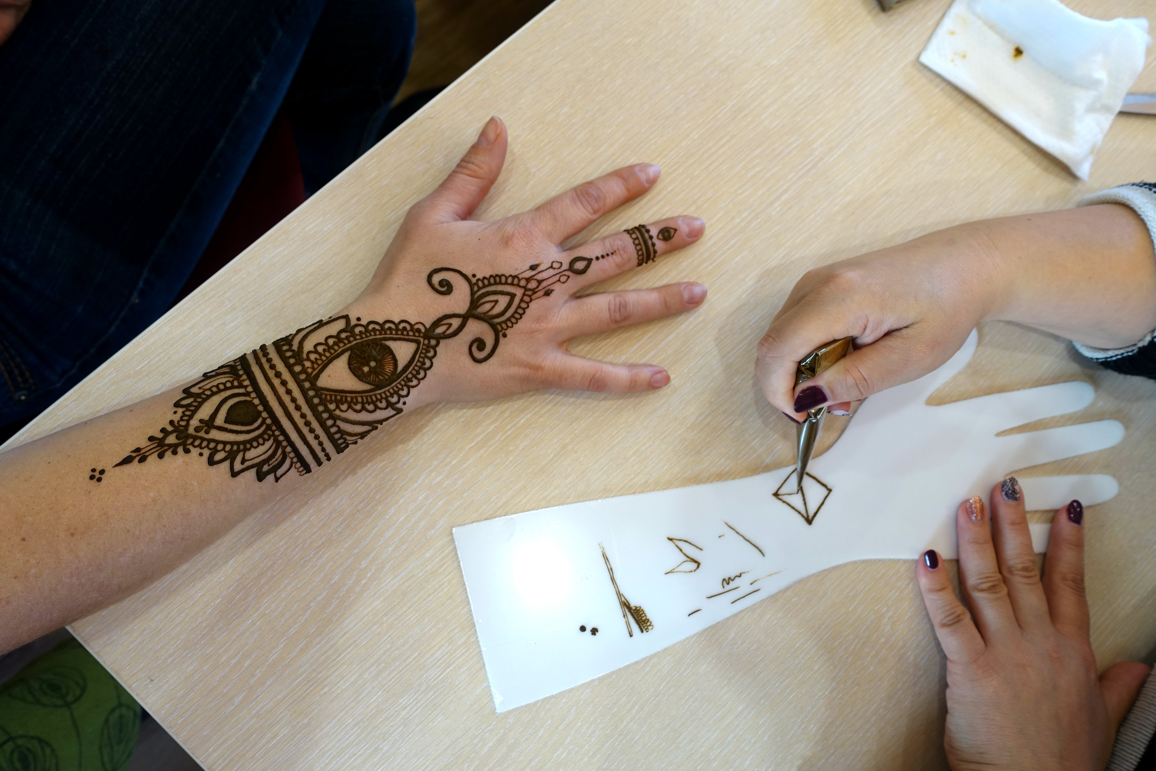 henna practice