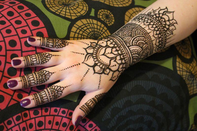 warsztaty malowania henną