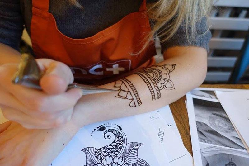 warsztaty malowania henną warszawa