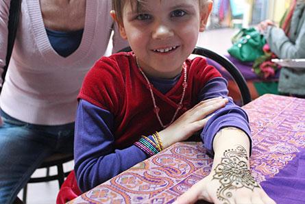 malowanie henną na imprezach