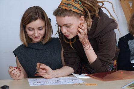 kurs malowania henną