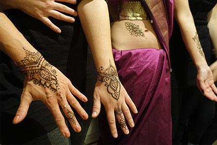 wieczór panieński z henną