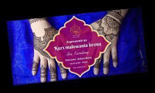 kupon prezentowy na kurs malowania henną
