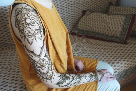 mehendi wzory inspiracje henna tatuaże z henny wzory rękaw delikatne wzory