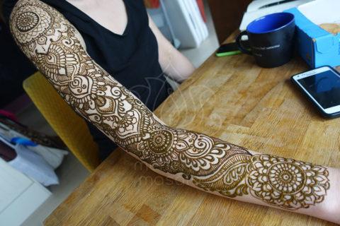 mehendi wzory inspiracje henna tatuaże z henny wzory indyjskie tatuaż mandala