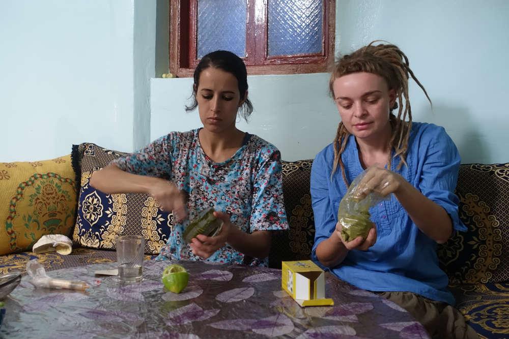 mieszanie henny w maroko