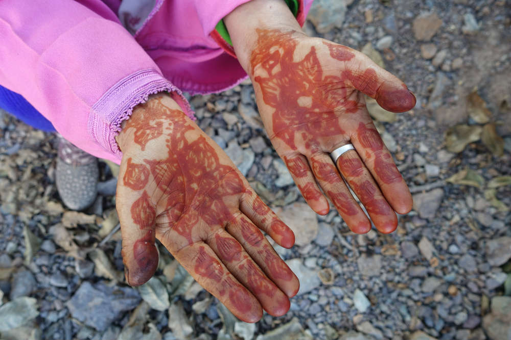 henna w maroko