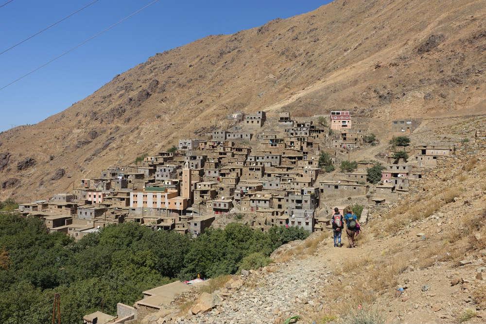 wioska w wysokim atlasie