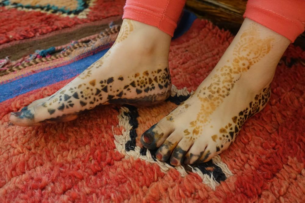 szablon henna