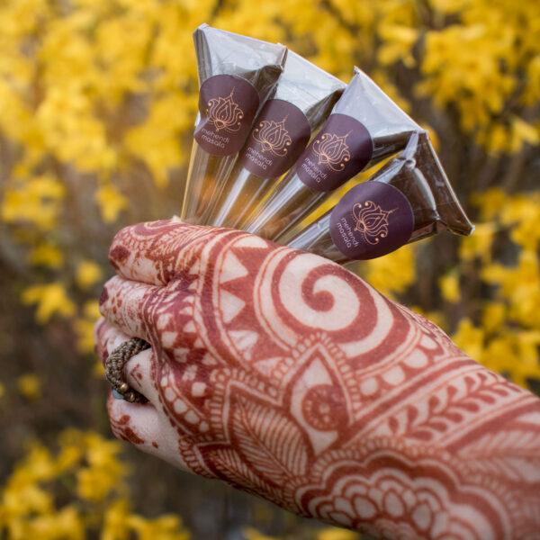 henna do tatuazu mehendi 4 rozki