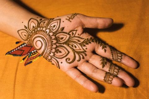 Indyjski wzorek na wieczór panieński